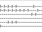 "Guitar tab for ""Misery"""