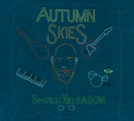 Autumn Skies album cover 2013. Design by Sigurlaug Gísladóttir.